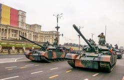 Los tanques de la guerra Fotografía de archivo libre de regalías