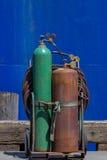 Los tanques del acetileno Imagen de archivo