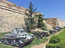 Los tanques en Serbia Fotos de archivo libres de regalías