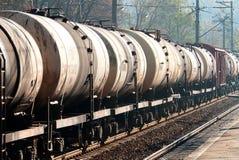 Los tanques ferroviarios Fotos de archivo
