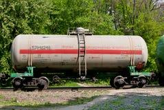 Los tanques ferroviarios Imagen de archivo libre de regalías