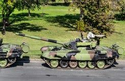 Los tanques militares Fotografía de archivo libre de regalías