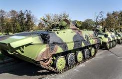 Los tanques militares Foto de archivo libre de regalías