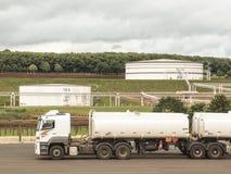 Los tanques para el etanol Fotos de archivo libres de regalías