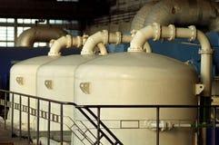 Los tanques químicos Imagen de archivo libre de regalías