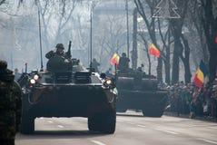 Los tanques rumanos Fotos de archivo