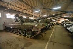 Los tanques viejos en un museo Foto de archivo libre de regalías