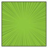 Los tebeos colorean las líneas radiales efectos de la velocidad del gráfico ilustración del vector