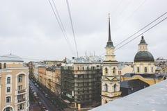 Los tejados de la ciudad Fotografía de archivo libre de regalías