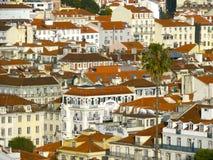 Los tejados de Portugal Imagen de archivo