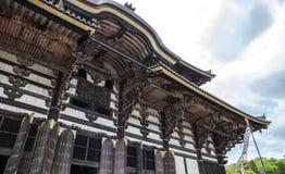 Los tejados del templo de Todai-ji fotografía de archivo libre de regalías