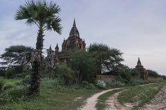Los templos de Bagan foto de archivo libre de regalías