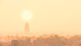 Los templos de, Bagan en la salida del sol, Myanmar Fotografía de archivo libre de regalías