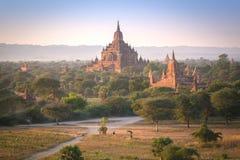 Los templos de Bagan (pagano), Mandalay, Myanmar Foto de archivo libre de regalías