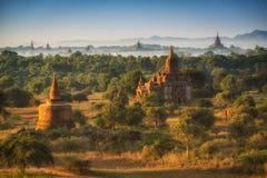 Los templos de Bagan (pagano), Mandalay, Myanmar Fotografía de archivo libre de regalías