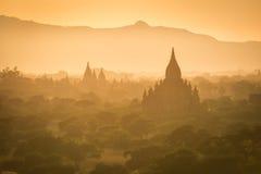 Los templos de Bagan (pagano), Mandalay, Myanmar Fotos de archivo libres de regalías