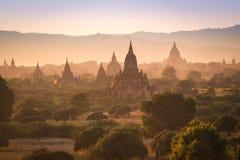Los templos de Bagan (pagano), Mandalay, Myanmar Imagenes de archivo