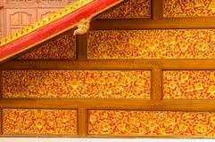 Los templos esculpidos modelo de Tailandia. Imagen de archivo libre de regalías