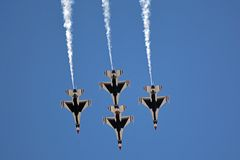 Los Thunderbirds Imagenes de archivo