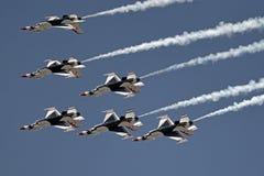 Los Thunderbirds Fotos de archivo libres de regalías