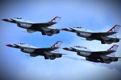 ¡Los ThunderBirds son van! Imagen de archivo libre de regalías