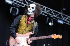 Los Tiki Phantoms band performs at FIB Stock Images