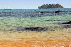 Los tintes del océano Imágenes de archivo libres de regalías