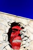 Los titanes de la pared de Shingeki ningún Kyojin Imagen de archivo
