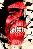 Los titanes de la pared de Shingeki ningún Kyojin Fotos de archivo
