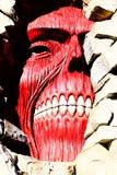 Los titanes de la pared de Shingeki ningún Kyojin Fotos de archivo libres de regalías