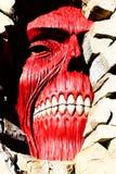Los titanes de la pared de Shingeki ningún Kyojin Fotografía de archivo libre de regalías