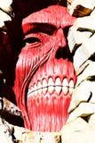 Los titanes de la pared de Shingeki ningún Kyojin Fotografía de archivo