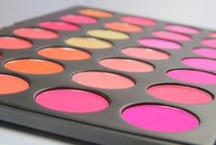 Los tonos rosados se ruborizan paleta Imagen de archivo