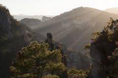 Los trägt den natürlichen Park Lizenzfreie Stockfotografie