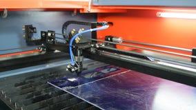 Los trabajos de la máquina de grabado del laser plan total metrajes