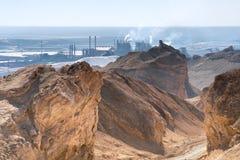 Trabajos del mar muerto. foto de archivo