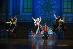 """Los trajes blancos bailan el  de Nights†del """"One mil y uno del ballet Fotos de archivo libres de regalías"""