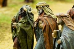 Los tres reyes sabios Fotografía de archivo libre de regalías