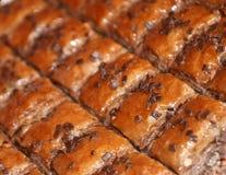 Baclava/torta del turco Foto de archivo libre de regalías