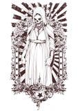 Los undead stock de ilustración
