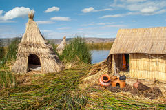 Los Uros Royalty Free Stock Photos