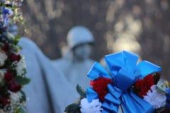 Los veteranos de la Guerra de Corea conmemorativos Imagen de archivo libre de regalías