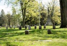 Los veteranos seccionan de un cementerio Fotos de archivo