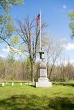 Los veteranos seccionan de un cementerio Imagen de archivo