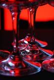 Los vidrios del salón Foto de archivo libre de regalías
