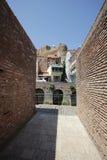 Los viejos baños del azufre en Tbilisi, Georgia Foto de archivo