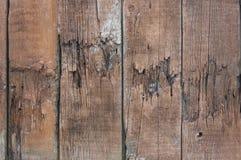 Los viejos tableros dañados Foto de archivo libre de regalías