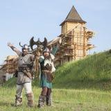 Los Vikingos Imágenes de archivo libres de regalías