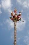 Los Voladores de Papantla Stock Photo