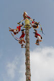 Los Voladores de Papantla Royalty Free Stock Photos